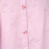 Pink Dhoti Set with Cape Neck