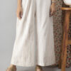 Faun Striped Handloom Cotton Palazzo